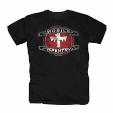 Starship cortometrajes Mobile Infantry t-shirt s-4xl negro