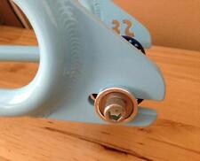 "HELIX BMX ROUND DROPOUT SAVERS -FITS NEARLY ALL FRAMES -Fits 3/8"" AND 10mm Axles"