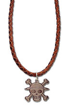*NEW* One Piece: Luffy's Jolly Roger Necklace by GE Animation