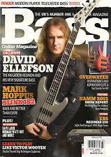 BASS GUITAR MAGAZINE 77 April 2012 DAVID ELLEFSON Learn Play Like VICTOR WOOTEN