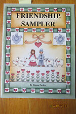 DONNA FARLEY DECORATIVE Painting Booklet  FRIENDSHIP SAMPLER