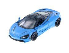 Kinsmart McLaren 720S 1:36 Scale Diecast Model Toy Car 5403D Light Blue
