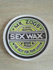 ++ sticker autocollant Sex Wax surf beach ++
