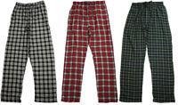 Hanes Men's Flannel Elastic Waist Sleep Pajama Lounge Pant for Men