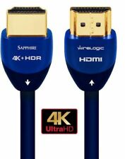 WireLogic WLCC2016 12 Feet 4K HDMI Cable - 1 Pack - Sapphire