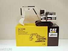 """Caterpillar 5130B Excavator - """"WHITE"""" - 1/50 - NZG #391.1 - MIB"""
