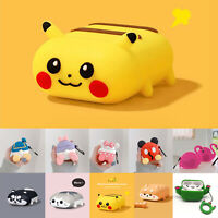 Cute 3D Cartoon AirPods Silicone Case Protective Cover For Apple AirPod 1/2 Pro