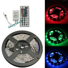 5M SMD RGB 5050 Non-Waterproof Strip light 300 LED + 44 Key IR Remote Controller
