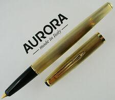 AURORA 98 - Stilografica Vintage in Argento 925° Dorato, Rare Fountainpen!!