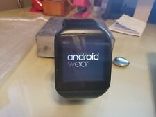 Sony SWR50 SmartWatch 3 Stainless Steel Case Sport Band - Black