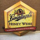 HONEY WEISS Leinenkugel Brewing Co Bier Beer Metal SIGN • Bar Pub Advertisement