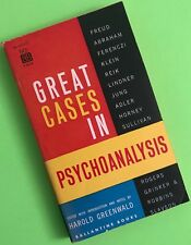 GREAT CASES in PSYCHOANALYSIS Harold Greenwald 1st Edition Ballantine Books