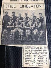 m1-5 ephemera 1949 Picture Football Team Squad Walthamstow Winns Old Boys