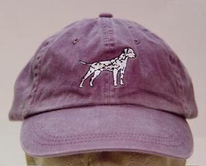 DALMATIAN DOG HAT WOMEN MEN SOLID COLOR BASEBALL CAP Price Embroidery Apparel