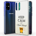 Total Guard Cover Case for Samsung Galaxy S20 Plus, Drink Beer