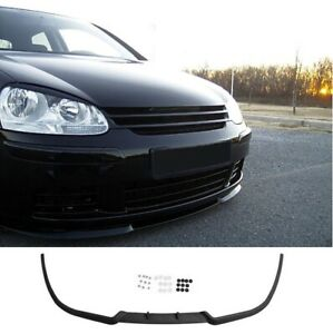 VW Golf MK5 5 Rabbit Front Bumper Cup Chin Spoiler Lip Splitter Valance + Screws