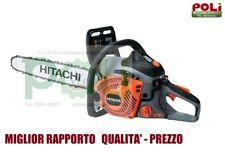 MOTOSEGA HITACHI CS51EAP BARRA DA 45 CM + OLIO MISCELA HITACHI PROFESSIONALE