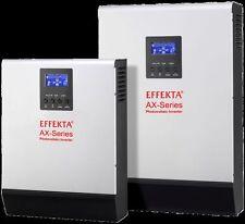 Inverter ibrido EFFEKTA AXK-1000 12V 800W gestione rete, batterie fotovoltaico