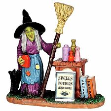 Lemax 42213 SPELLS, POTIONS & MORE Spooky Town Figurine Halloween Decor Figure I