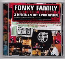 CD RAP FRANCAIS / FONKY FAMILY - HORS SERIE VOLUME 2 / COMME NEUF