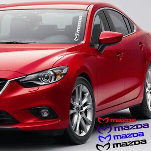 Evil M Mazda Decal Side Windshield Vinyl Sticker Graphic Emblem Mazda 3 5 6 CX-9