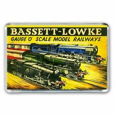 RETRO BASSETT - LOWKE O GAUGE   CATALOGUE  ARTWORK JUMBO Fridge Magnet