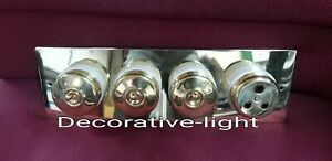 Vintage style 3 Toggle brass cover Porcelain switch 1 brass electric Soucket