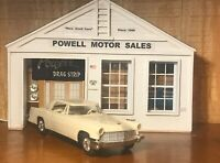 AMT 1956 LINCOLN  CONTINENTAL 2 DR HT MARK II WHITE PROMO 1/25 NO BOX