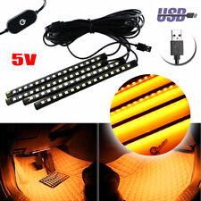 Car LED Interior Ambient Lights Atmosphere Decoration Lamps USB Plug