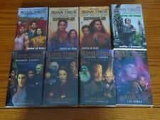 Star Trek DS9 Book Lot of 8 (A Stitch In Time/Rebels/Mission Gamma/Rising Son)
