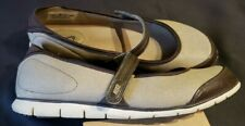 Nike Women's Shoes Size 8.5 Flats Mary Jane Nike Free Adjustable Brown Casual
