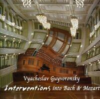 Interventions into Bach & Mozart - V. Guyvoronsky CD Album, NEW, SEALED