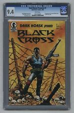 Dark Horse Presents #1 1986 1st App of Concrete Black Mask White Pages CGC 9.4