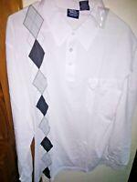 John Blair Vintage 80s 90s Rockabilly Men's XL Shirt Polo golf