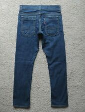 Men's Levi's 511 Skinny Jeans Zippered Back Pocket Tag Size 30x30 Actual 29x28.5