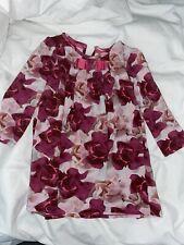 Ted Baker Porcelain Rose 3-4 Years Dress Long Sleeve