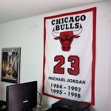 MICHAEL JORDAN Chicago Bulls LARGE 3x5 BANNER poster tapestry NBA wall decor