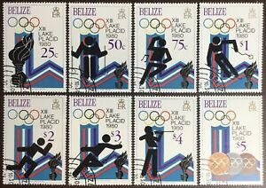 Belize 1979 Winter Olympics 1980 CTO Never Hinged