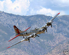 B-17 Vintage Bomber Painted to Resemble B-17G of the 398th Bombardment Group