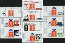 More details for gb machin promotion overprint panes exhibitions 10 different