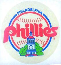 "Original Philadelphia Phillies Mini Iron On Transfer Baseball Mlb 3.5"" inches"