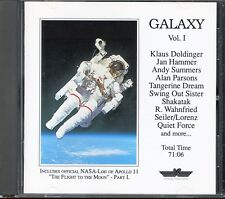 GALAXY VOL 1 CD Tangerine Dream-Alan Parsons-Klaus Doldinger-Jan Hammer/IC/no-lp