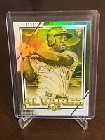 2020 Topps Fire Yordan Alvarez Rookie Card Gold Minted Foil Parallel Astros RC