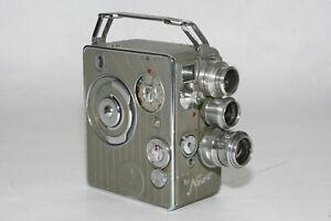 Nizo Heliomatic 8 S 2 R #701536,  8mm Filmkamera mit Rodenstock Heligon 1,5/12,5