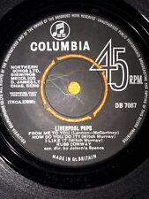 "Russ Conway Liverpool Pops 7"" vinyl single record UK DB7087 COLUMBIA 1963"