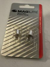 Genuine Mag Lite White Star Krypton Lamp For 5 Cell C & D Torch LR14 LR20