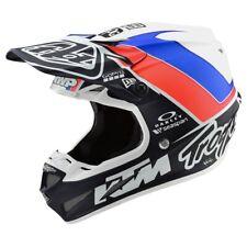 Troy Lee Designs SE4 Composite Unite MX Offroad Helmet White/Navy