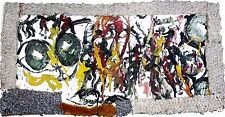 """PURVIS YOUNG """"ABSTRACT WITH EYES OF SYSTEM"""" 