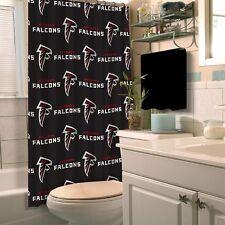 NFL Fabric Shower Curtain, Atlanta Falcons, NEW