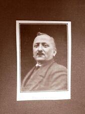 Stampa del 1923 Enrico Cattaneo Collaboratore dell'Illustrazione Italiana